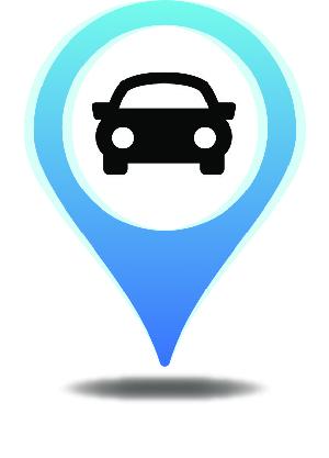 Zaparkuj Auto map